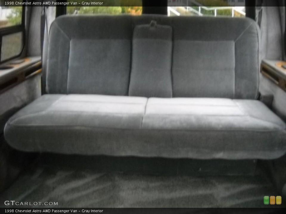 Gray 1998 Chevrolet Astro Interiors