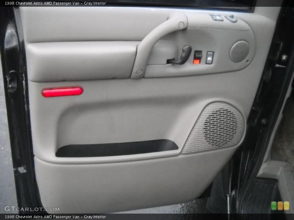 Gray Interior Door Panel for the 1998 Chevrolet Astro AWD Passenger Van #46049209