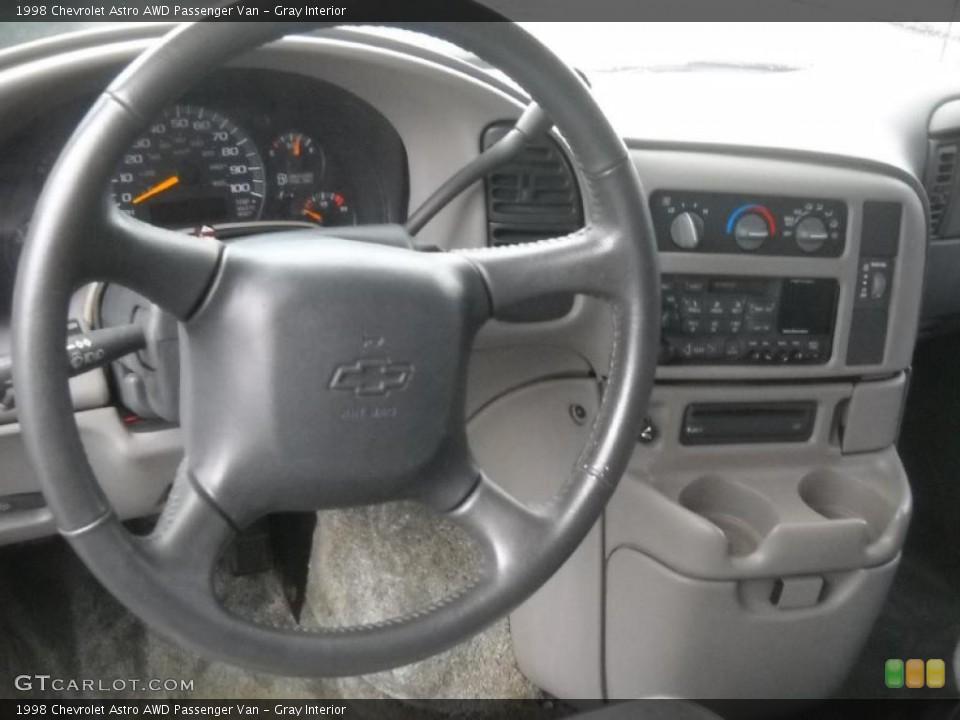 Gray Interior Steering Wheel for the 1998 Chevrolet Astro AWD Passenger Van #46049239