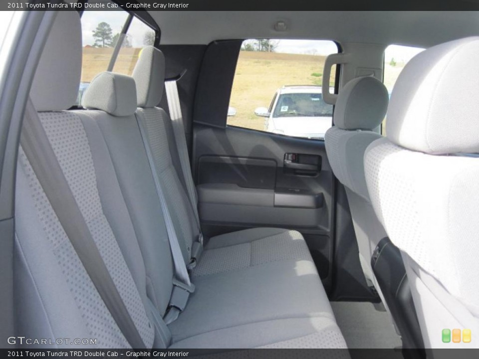 Graphite Gray Interior Photo for the 2011 Toyota Tundra TRD Double Cab #46093514