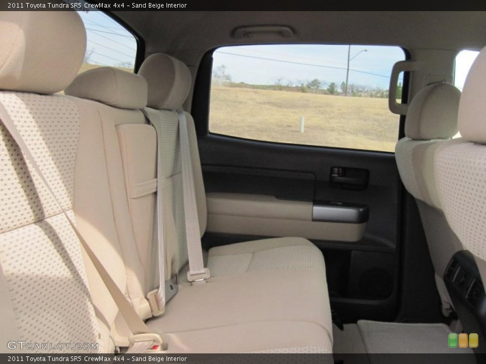 Sand Beige Interior Photo for the 2011 Toyota Tundra SR5 CrewMax 4x4 #46162956