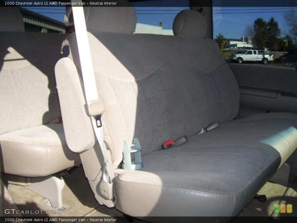 Neutral 2000 Chevrolet Astro Interiors
