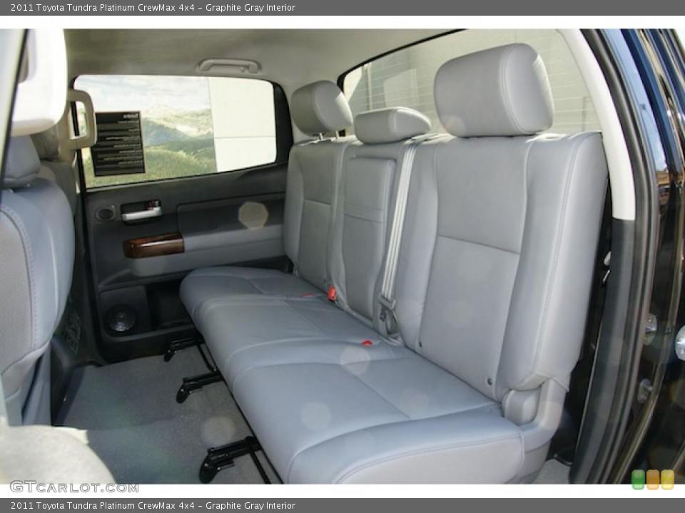 Graphite Gray Interior Photo for the 2011 Toyota Tundra Platinum CrewMax 4x4 #46201967