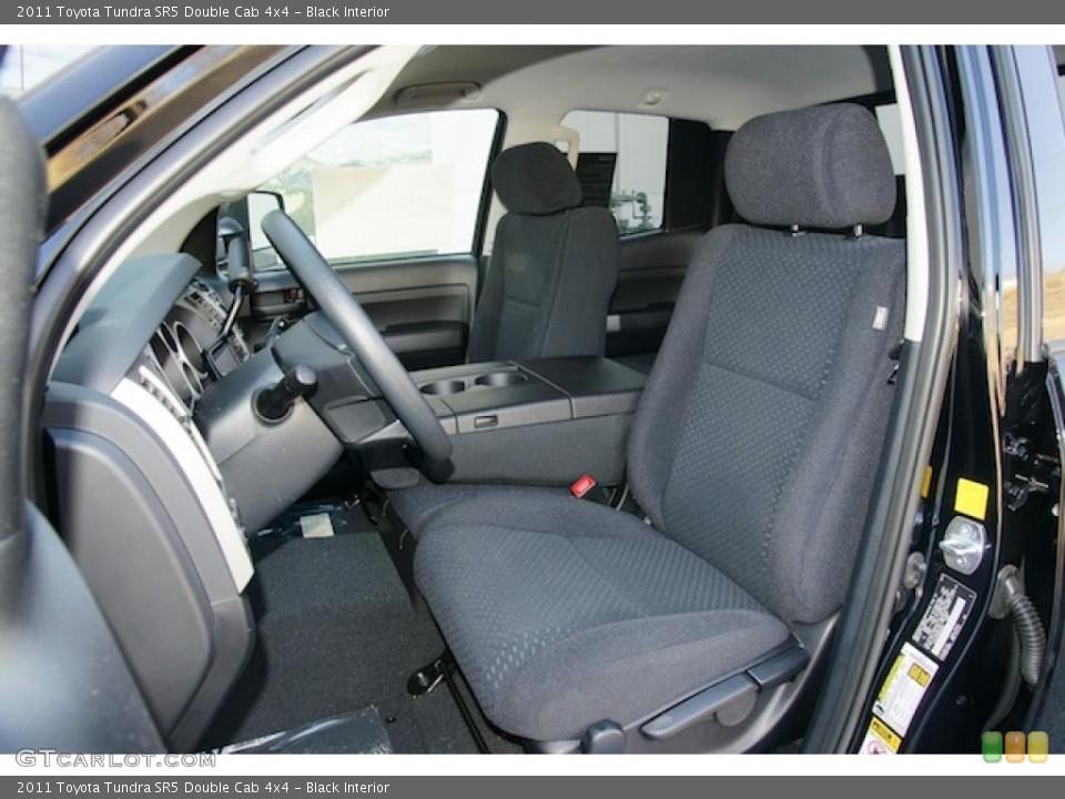 Black Interior Photo for the 2011 Toyota Tundra SR5 Double Cab 4x4 #46270036