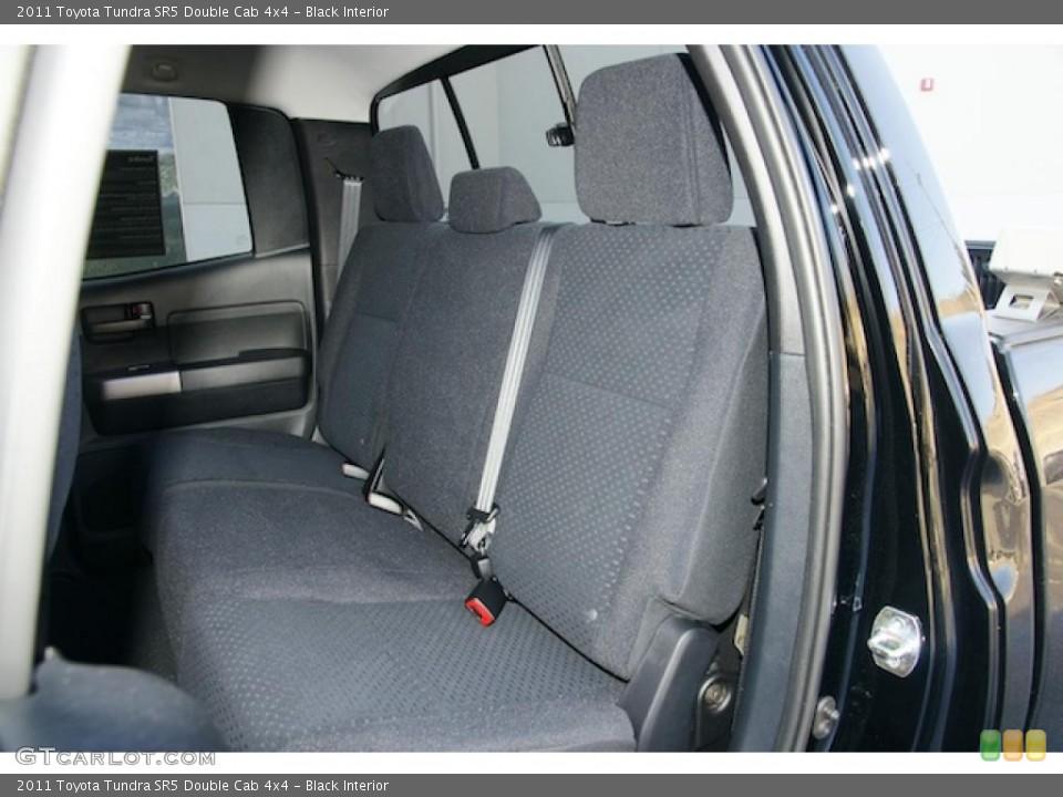 Black Interior Photo for the 2011 Toyota Tundra SR5 Double Cab 4x4 #46270042