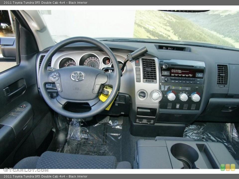 Black Interior Dashboard for the 2011 Toyota Tundra SR5 Double Cab 4x4 #46270063