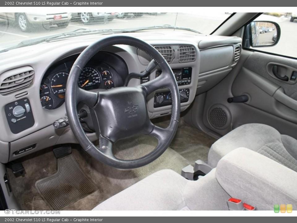 Graphite 2002 Chevrolet S10 Interiors