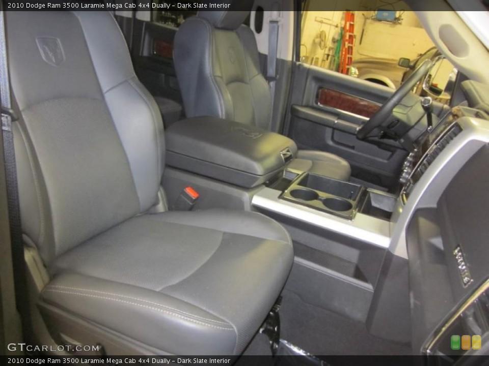 Dark Slate Interior Photo for the 2010 Dodge Ram 3500 Laramie Mega Cab 4x4 Dually #46371561
