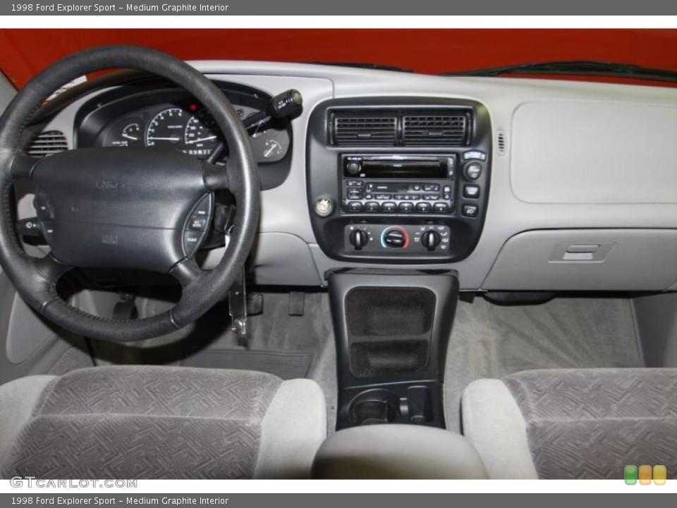 Medium Graphite Interior Dashboard for the 1998 Ford Explorer Sport #46410240