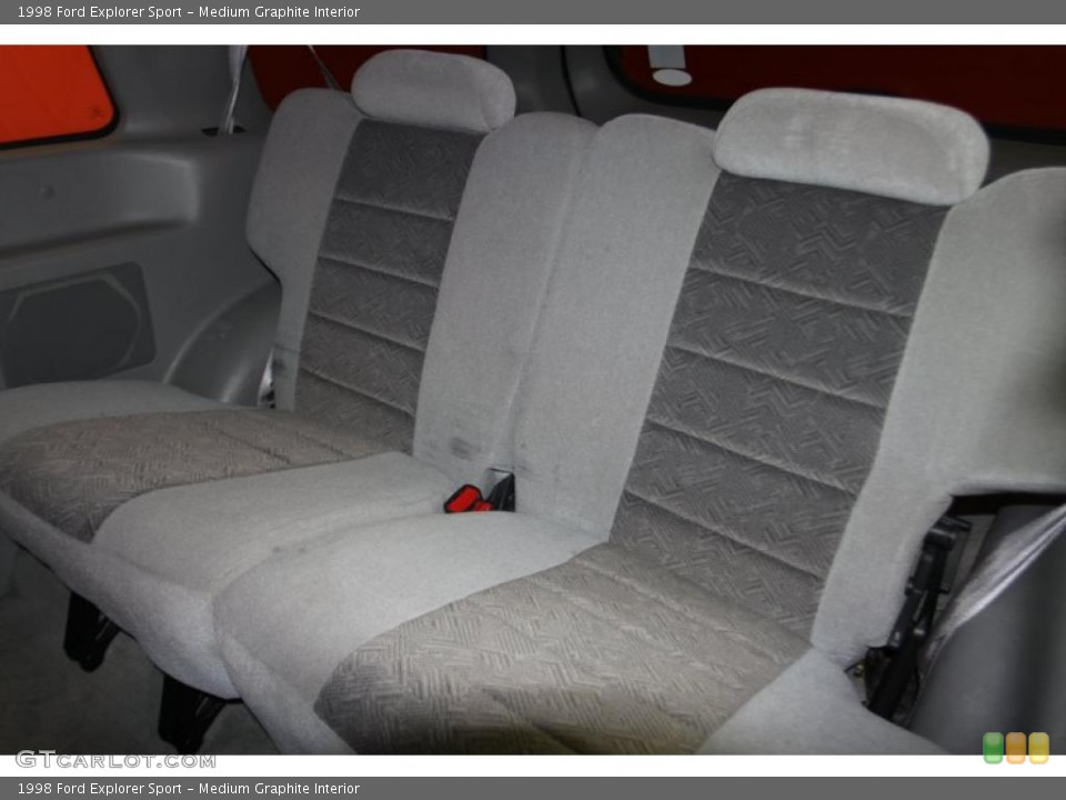 Medium Graphite Interior Photo for the 1998 Ford Explorer Sport #46410264