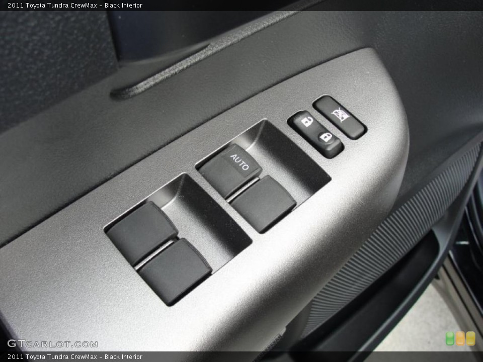 Black Interior Controls for the 2011 Toyota Tundra CrewMax #46417557