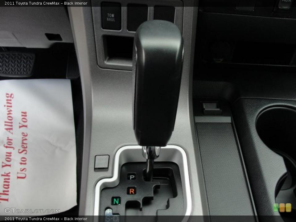 Black Interior Transmission for the 2011 Toyota Tundra CrewMax #46417686