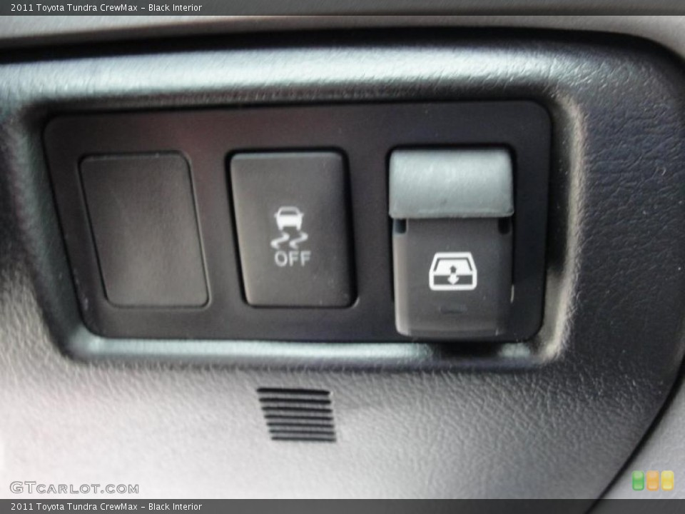 Black Interior Controls for the 2011 Toyota Tundra CrewMax #46417704