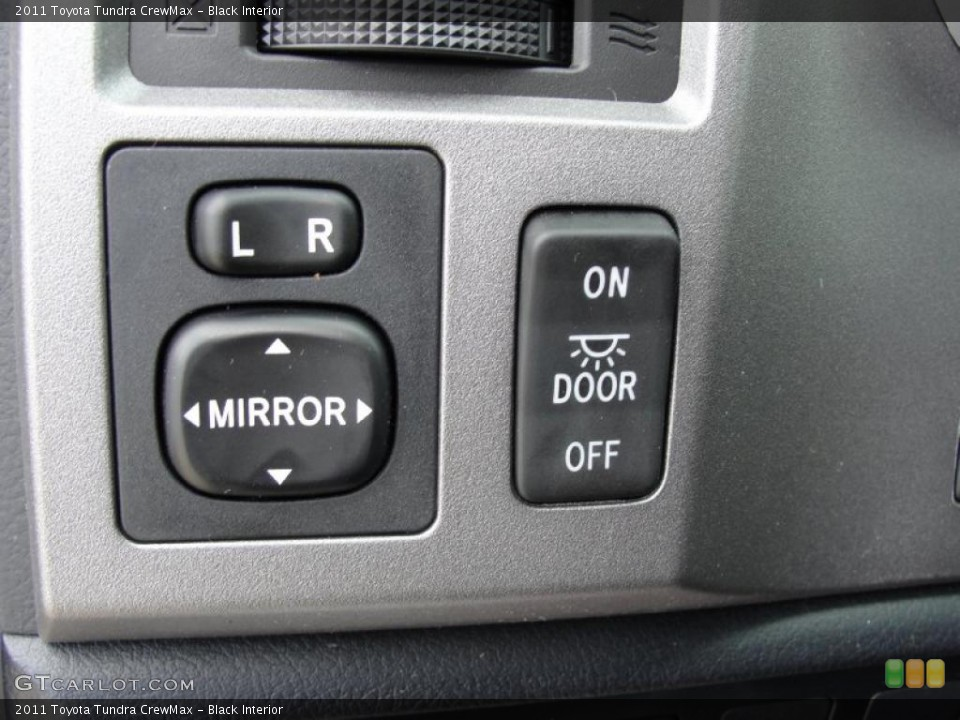 Black Interior Controls for the 2011 Toyota Tundra CrewMax #46417755