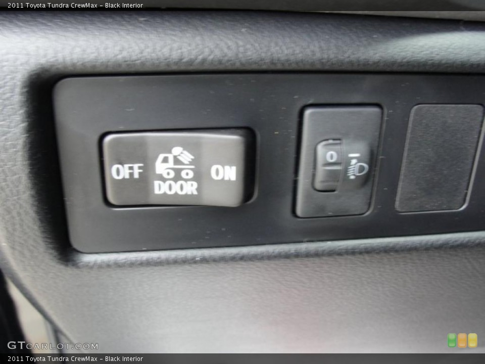 Black Interior Controls for the 2011 Toyota Tundra CrewMax #46417761