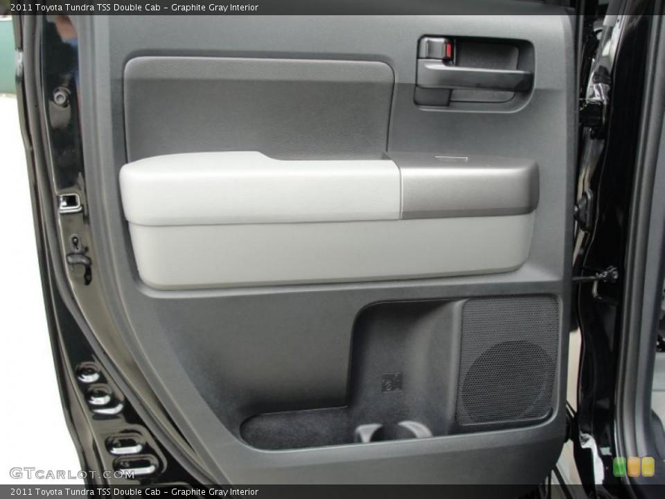 Graphite Gray Interior Door Panel for the 2011 Toyota Tundra TSS Double Cab #46419592