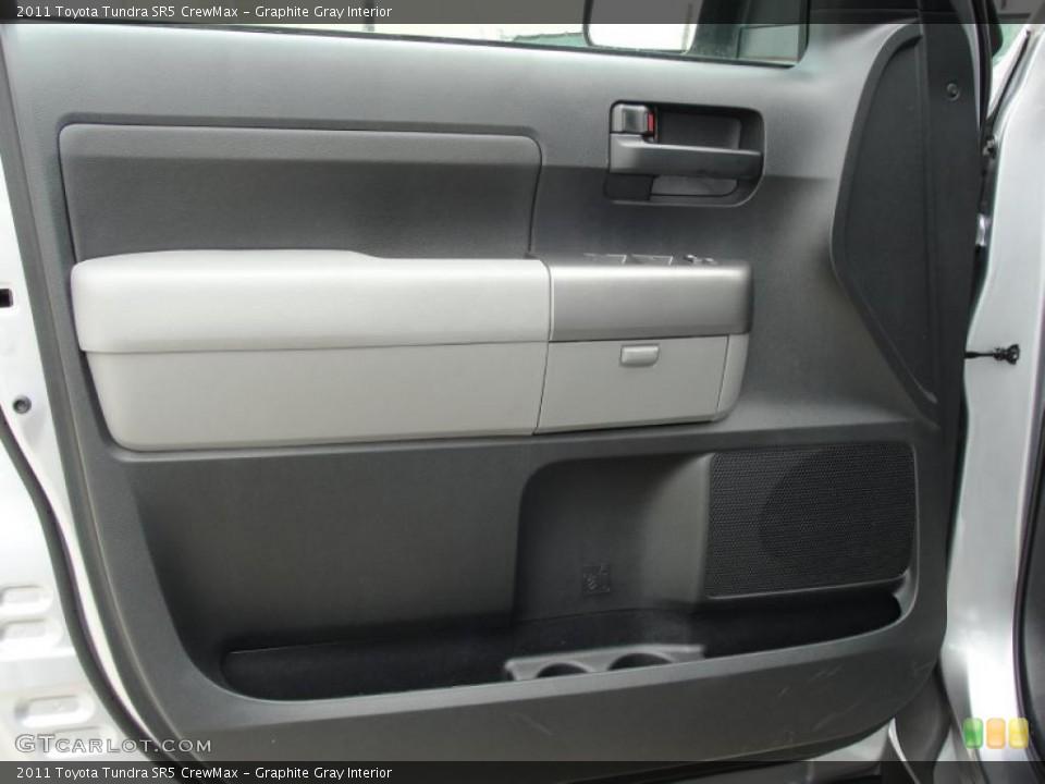 Graphite Gray Interior Door Panel for the 2011 Toyota Tundra SR5 CrewMax #46420113