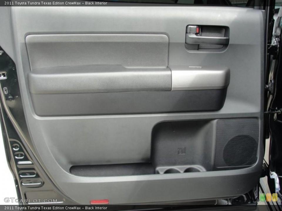 Black Interior Door Panel for the 2011 Toyota Tundra Texas Edition CrewMax #46420650