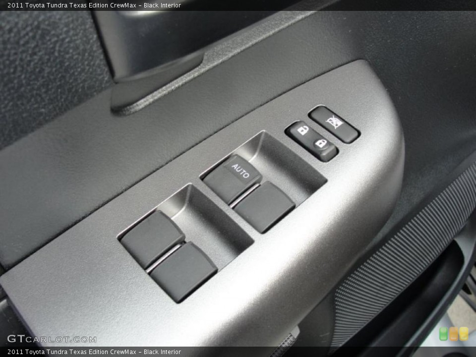 Black Interior Controls for the 2011 Toyota Tundra Texas Edition CrewMax #46420686