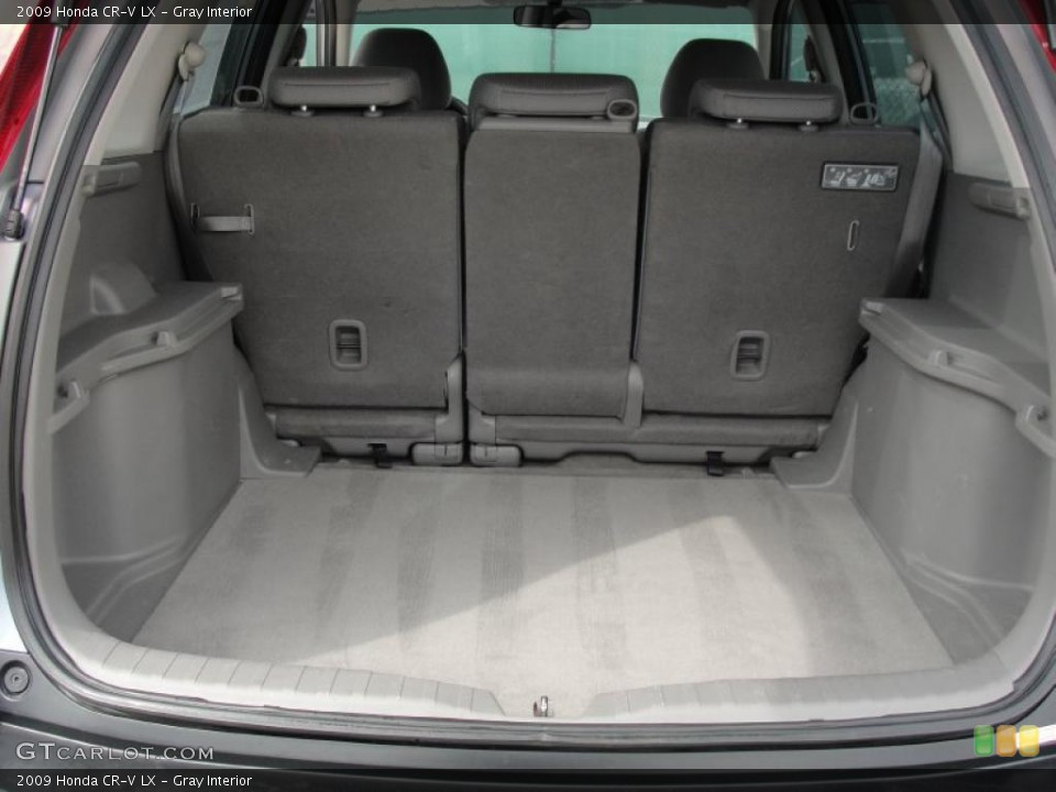 Gray Interior Trunk for the 2009 Honda CR-V LX #46478232