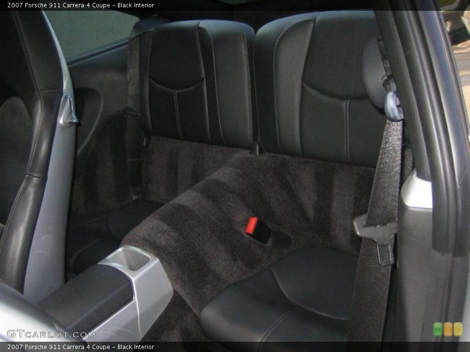 Black Interior Photo for the 2007 Porsche 911 Carrera 4 Coupe #46498053