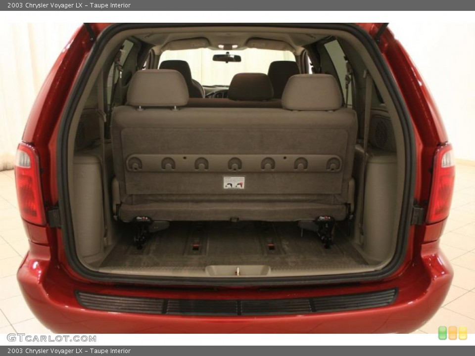Taupe Interior Trunk for the 2003 Chrysler Voyager LX #46540974