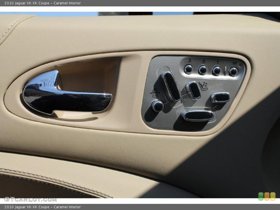 Caramel Interior Controls for the 2010 Jaguar XK XK Coupe #46614610
