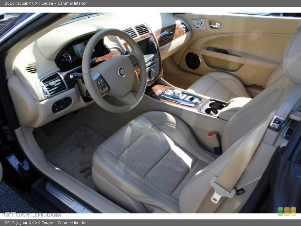 Caramel Interior Photo for the 2010 Jaguar XK XK Coupe #46614655