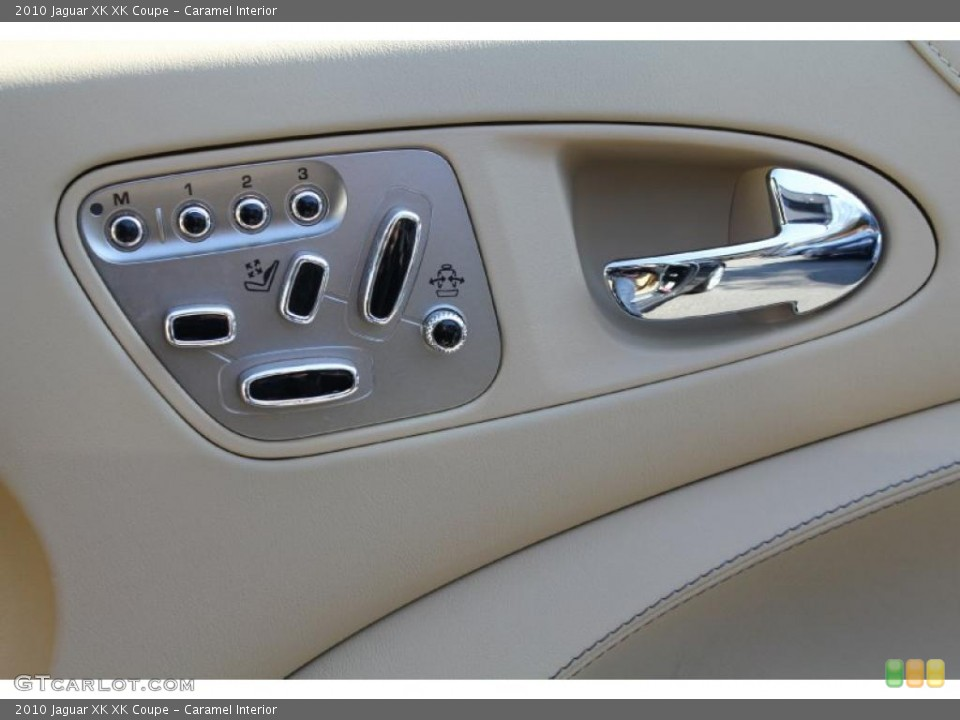 Caramel Interior Controls for the 2010 Jaguar XK XK Coupe #46614721