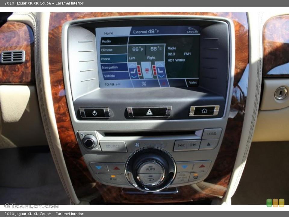 Caramel Interior Controls for the 2010 Jaguar XK XK Coupe #46614799