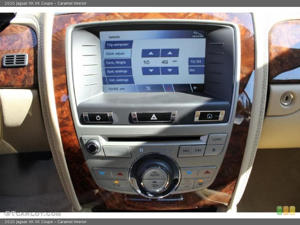 Caramel Interior Navigation for the 2010 Jaguar XK XK Coupe #46614829