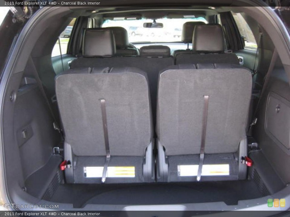 Charcoal Black Interior Trunk for the 2011 Ford Explorer XLT 4WD #46645967