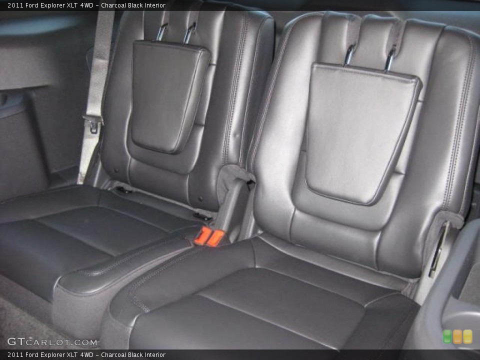 Charcoal Black Interior Photo for the 2011 Ford Explorer XLT 4WD #46646480
