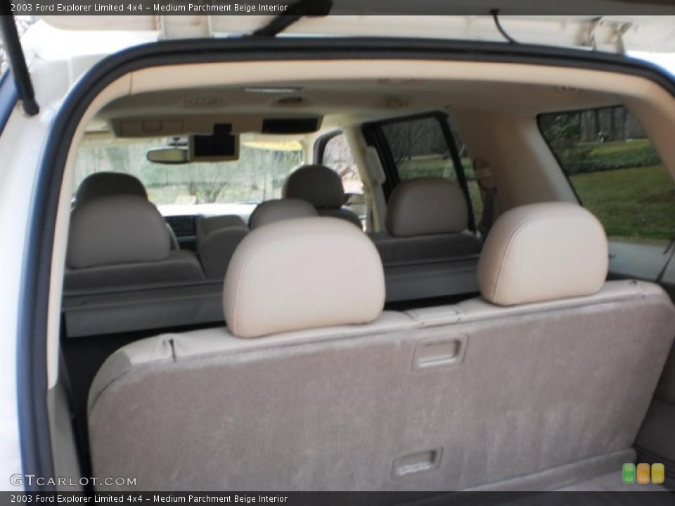 Medium Parchment Beige Interior Photo for the 2003 Ford Explorer Limited 4x4 #46693388