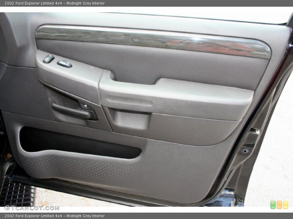 Midnight Grey Interior Door Panel for the 2002 Ford Explorer Limited 4x4 #46733979