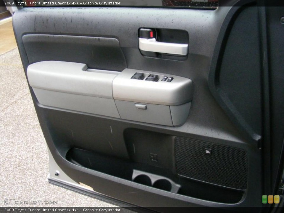 Graphite Gray Interior Door Panel for the 2009 Toyota Tundra Limited CrewMax 4x4 #46764015