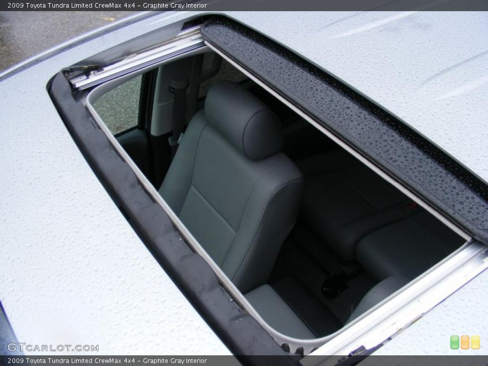 Graphite Gray Interior Sunroof for the 2009 Toyota Tundra Limited CrewMax 4x4 #46764030