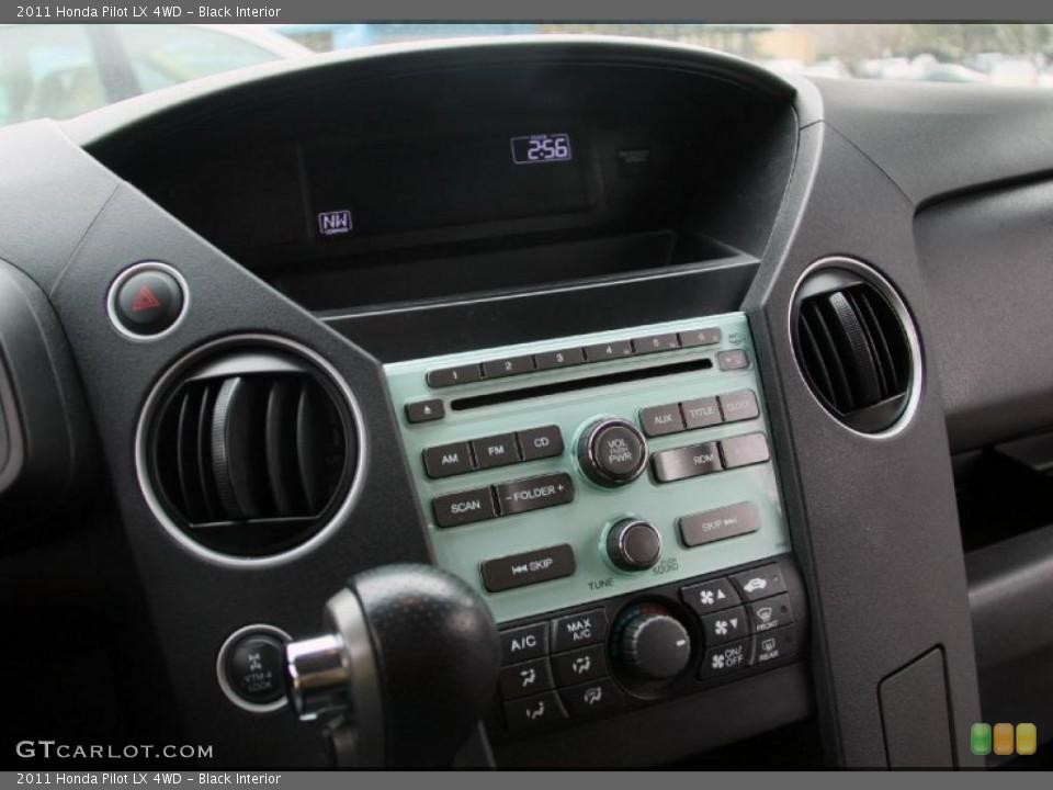 Black Interior Controls for the 2011 Honda Pilot LX 4WD #46765995
