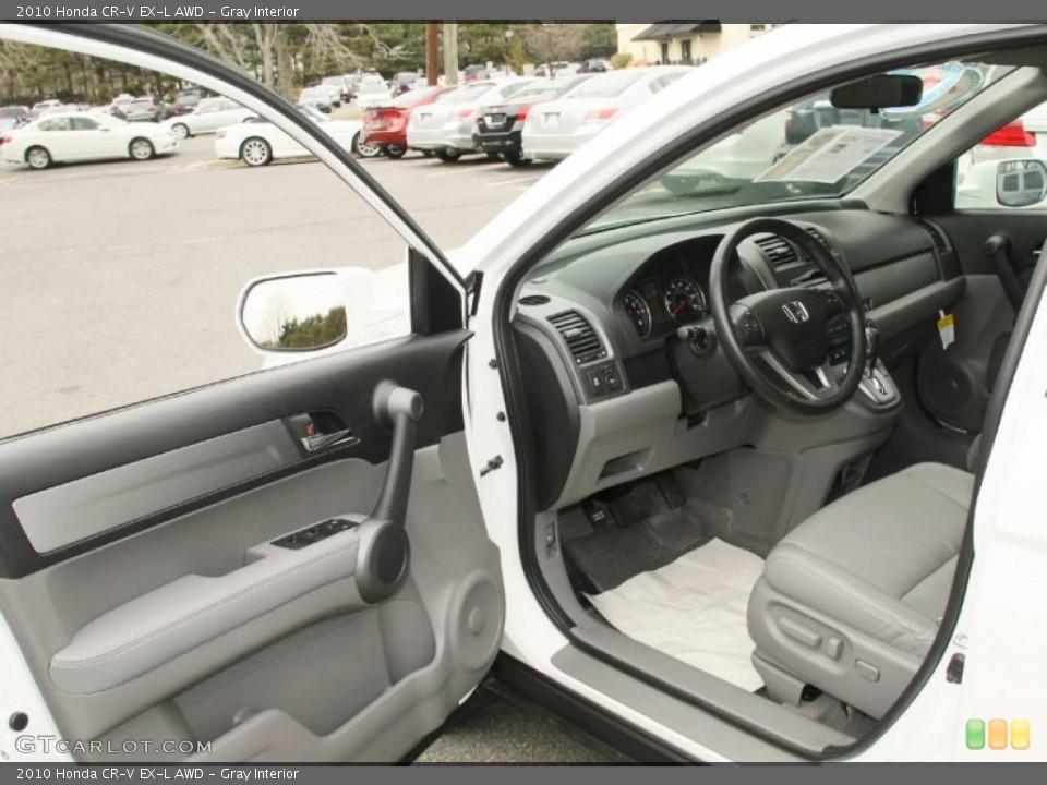 Gray Interior Photo for the 2010 Honda CR-V EX-L AWD #46852205