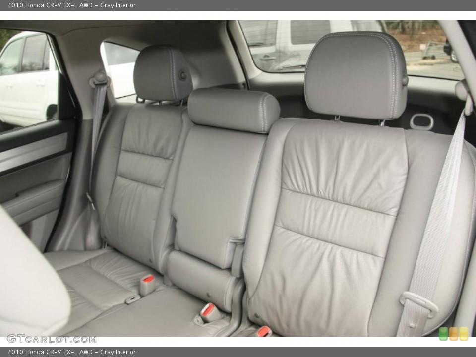 Gray Interior Photo for the 2010 Honda CR-V EX-L AWD #46852233