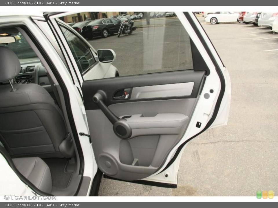 Gray Interior Door Panel for the 2010 Honda CR-V EX-L AWD #46852263