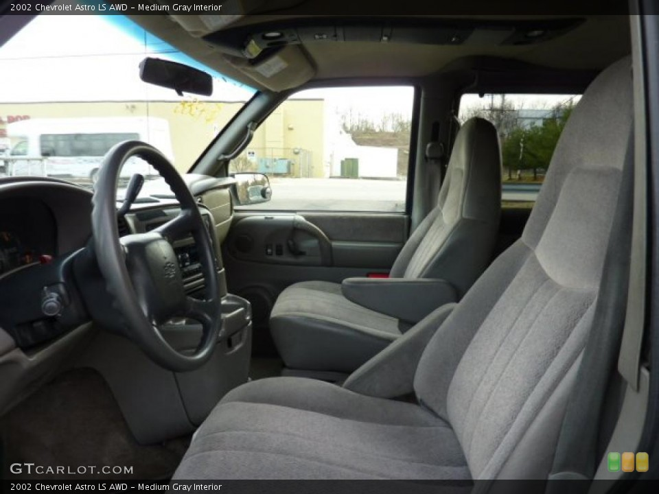 Medium Gray Interior Photo for the 2002 Chevrolet Astro LS AWD #46852995