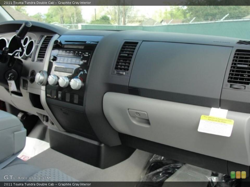Graphite Gray Interior Dashboard for the 2011 Toyota Tundra Double Cab #46880012