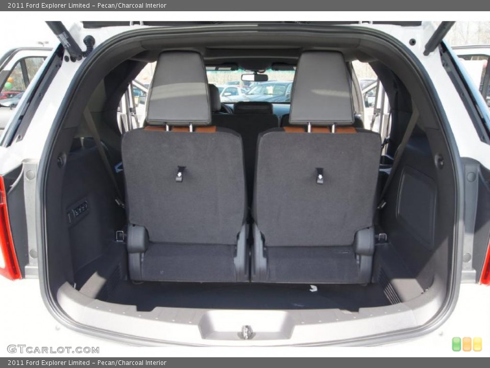 Pecan/Charcoal Interior Trunk for the 2011 Ford Explorer Limited #46941531