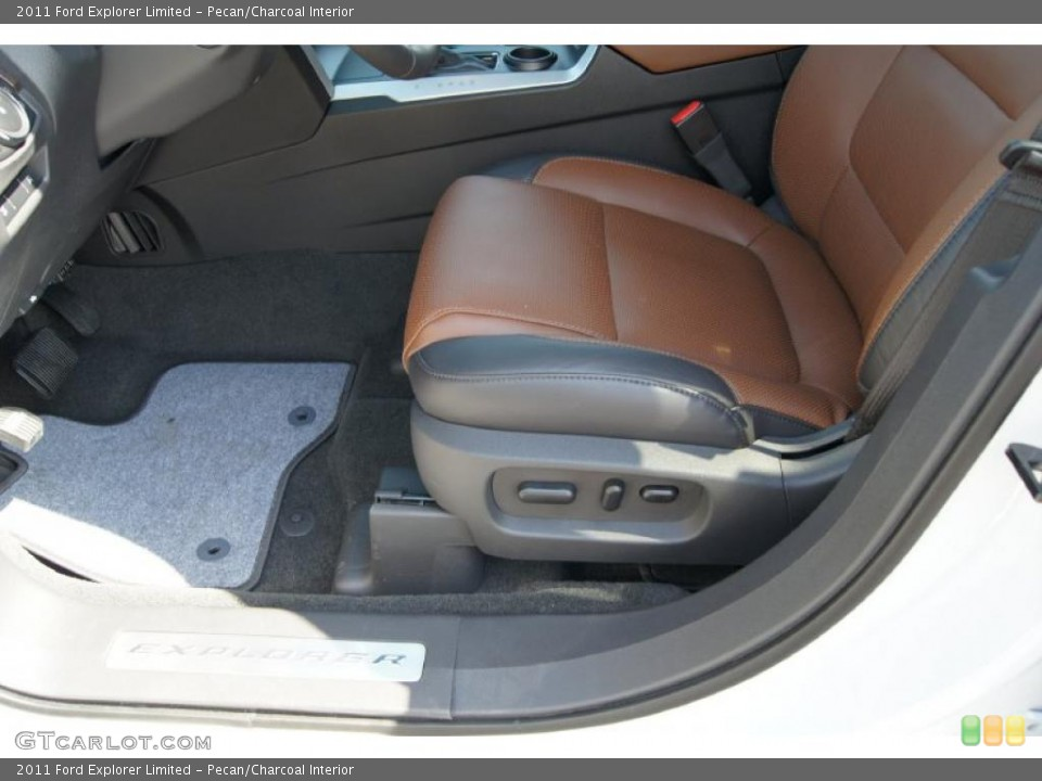 Pecan/Charcoal Interior Photo for the 2011 Ford Explorer Limited #46941744
