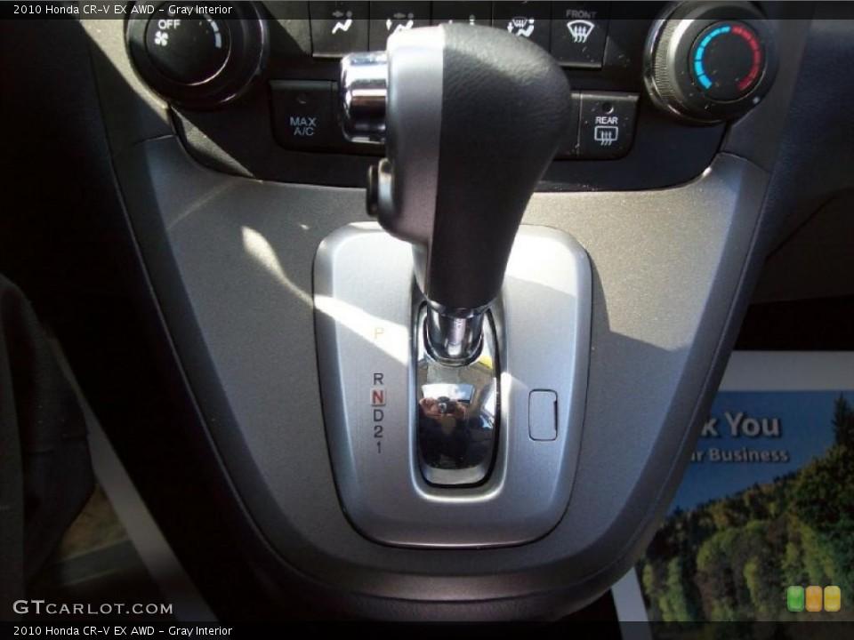 Gray Interior Transmission for the 2010 Honda CR-V EX AWD #46946199