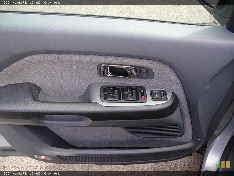 Gray Interior Door Panel for the 2004 Honda Pilot LX 4WD #46954953