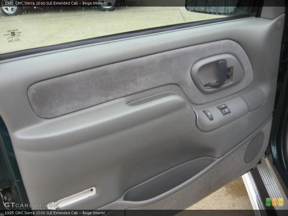 Beige Interior Door Panel For The 1995 Gmc Sierra 1500 Sle