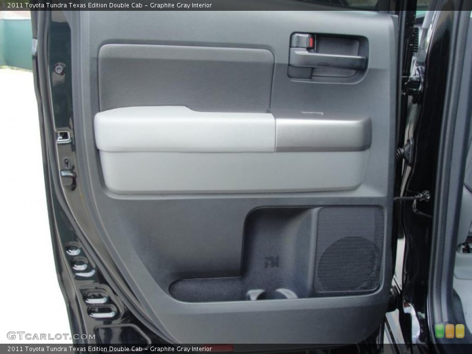 Graphite Gray Interior Door Panel for the 2011 Toyota Tundra Texas Edition Double Cab #47072030