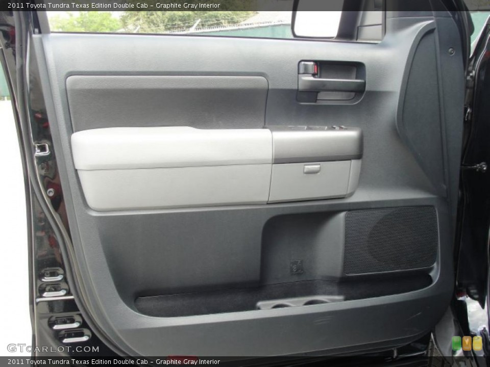 Graphite Gray Interior Door Panel for the 2011 Toyota Tundra Texas Edition Double Cab #47072057
